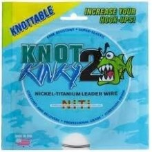 Knot2Kinky nickel-titanium leader wire