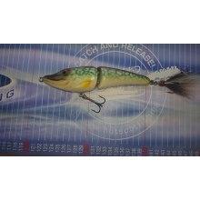 Tukker Baits/ Hotspot Fishing Smiling Pike Buck Tail