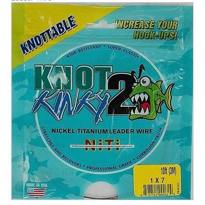 Knot2Kinky Nickel-Titanium 7-Strand Leader Wire