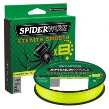 SpiderWire Stealth Smooth 8 Hi-Vis Yellow 150 m